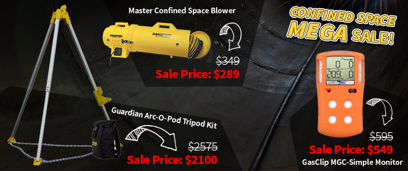 Confined Space Sale
