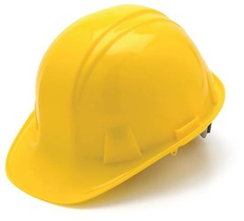 Cap-Style Hard Hats with 4-Point Ratchet Suspension